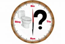 kiến thức phong thủy về phòng bếp, nhà vệ sinh