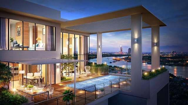 phong thủy căn hộ sky villa