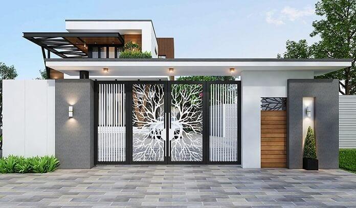Xây cổng nhà, cửa nhà đúng phong thủy