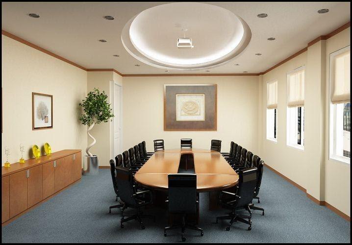 vị trí bàn họp hợp phong thủy