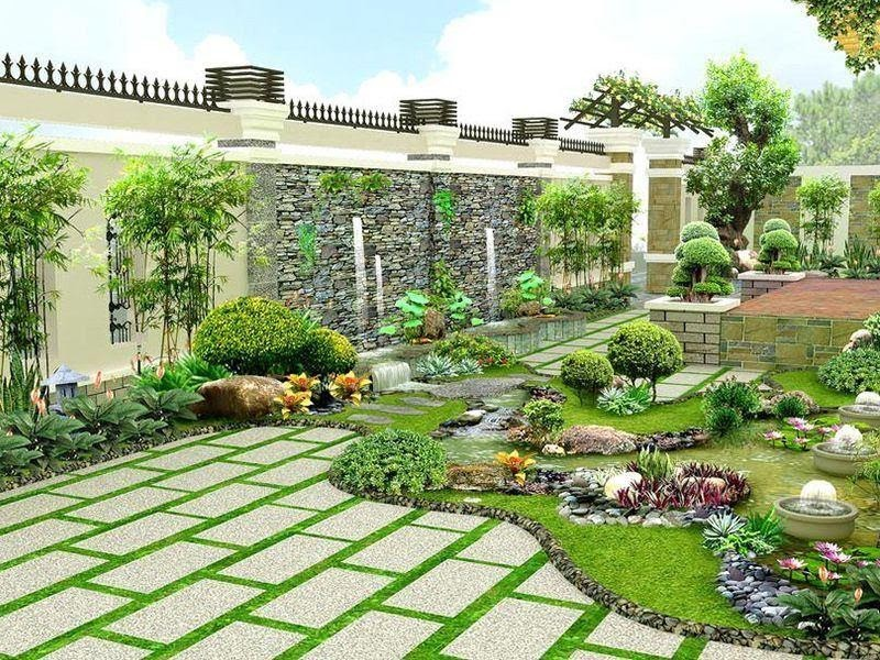 Phong thủy sân vườn mang đến nhiều tài lộc, thịnh vượng