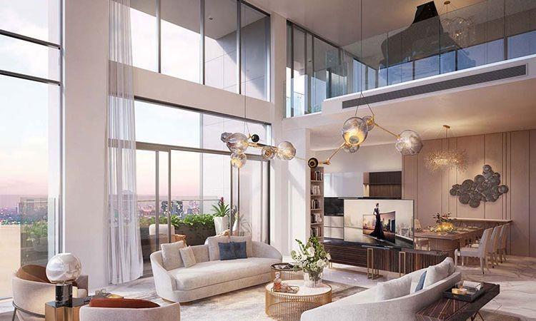 Hình ảnh căn hộ duplex đẹp