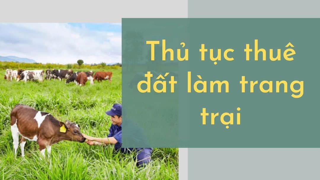 quy định về đất trang trại