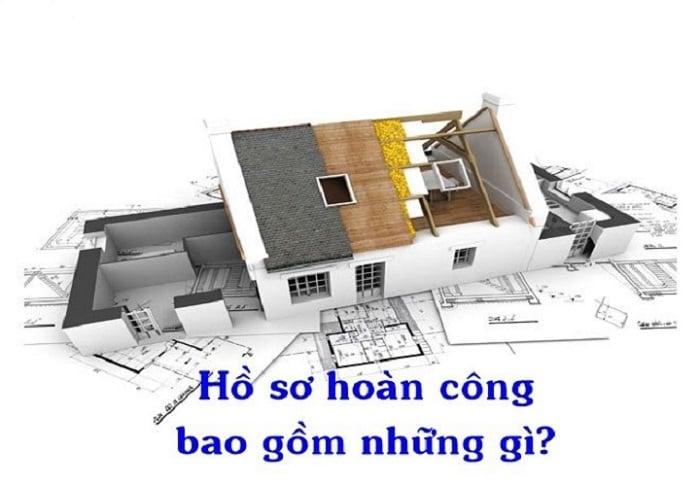 hồ sơ hoàn công xây dựng