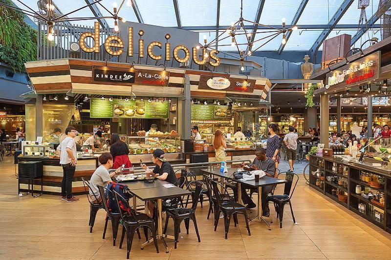 kinh doanh Food Court