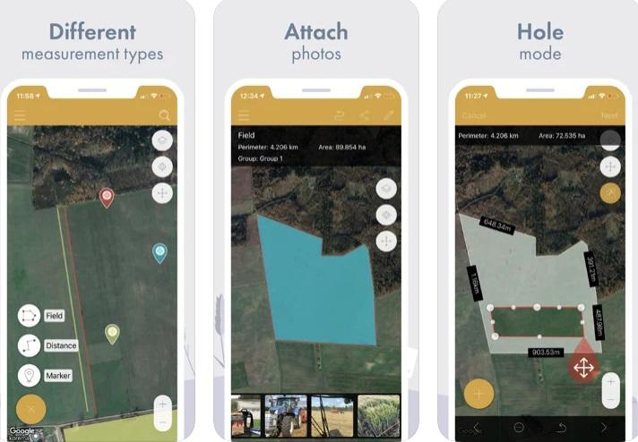 phần mềm đo diện tíc đất trên điện thoại
