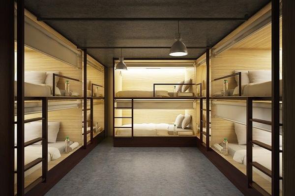 thiết kế phòng dorm