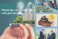 thành lập công ty môi giới BĐS