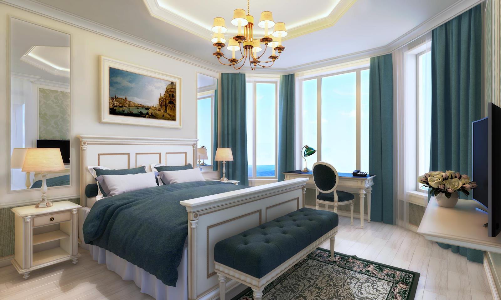 Cách sắp xếp phòng ngủ hợp phong thủy