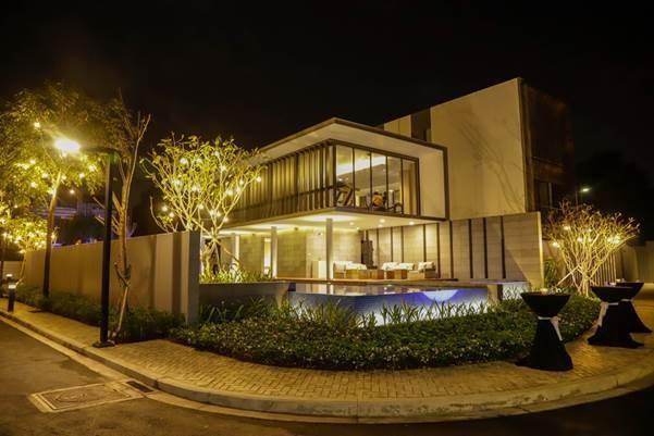 Thiết kế sang trọng của Club House khu biệt thự Thảo Điền.