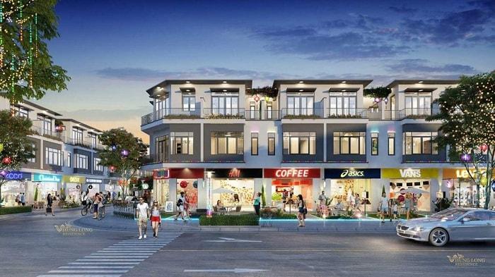 Shophouse là tên gọi của các mô hình nhà phố thương mại hoặc căn hộ thương mại